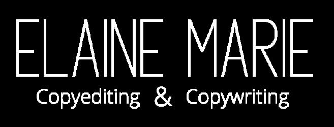 Elaine Marie Copyediting & Copywriting